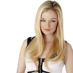 """10 Piece 19"""" Human Hair Clip In Extensions"""