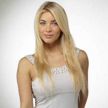 """4 Piece 19"""" Human Hair Clip in Extensions"""