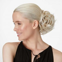 Tousled Wrap - Ice Blond