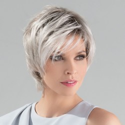 Satin - Silver Blonde Rooted